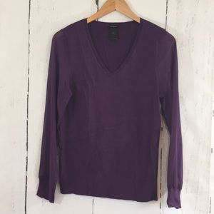 Beautiful Ann Taylor Sweater w/Sheer Sleeves